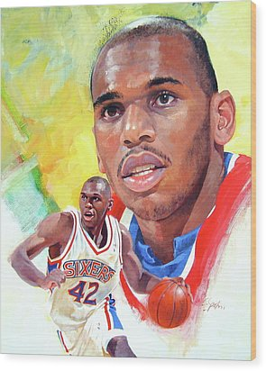 Jerry Stackhouse Wood Print