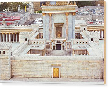 Jerusalem 70 Ad Wood Print by Thomas R Fletcher