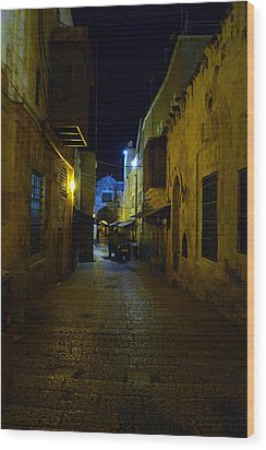 Wood Print featuring the photograph Jerusalem Of Copper 3 by Dubi Roman