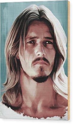Jesus Christ Superstar Wood Print by Gabriel T Toro