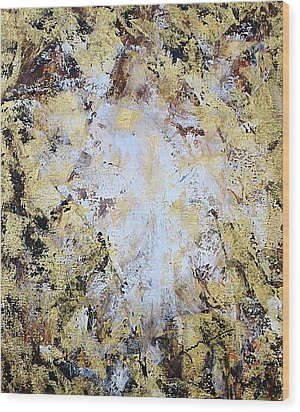 Jesus In Disguise Wood Print