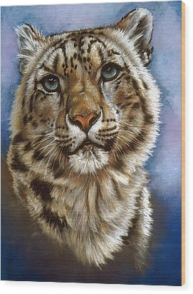 Wood Print featuring the pastel Jewel by Barbara Keith