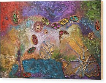 Jewels Of The Sky Wood Print by Farhan Abouassali