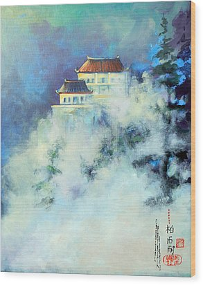 Jihuan Shan China Wood Print