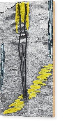 Wood Print featuring the photograph Jill. An Angel by Viktor Savchenko
