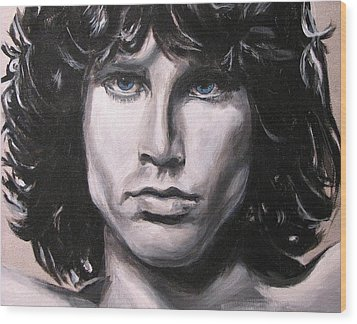Jim Morrison - The Doors Wood Print