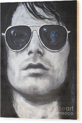 Jim Morrison IIi Wood Print by Eric Dee