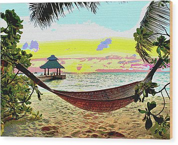 Jimmy Buffett's Margaritaville Wood Print