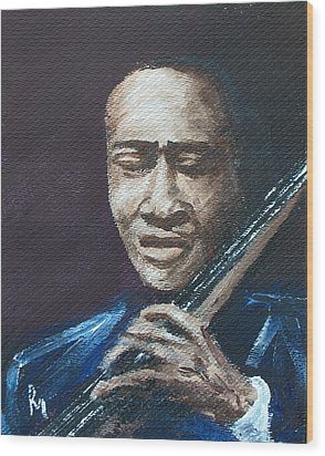 Jimmy G. Wood Print by Pete Maier