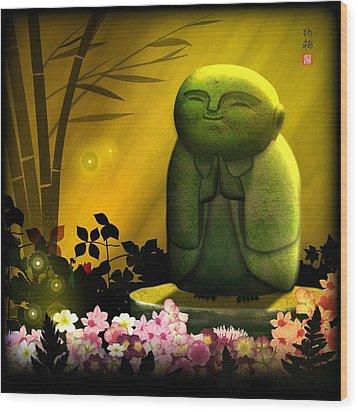 Jizo Bodhisattva Wood Print