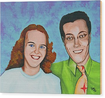 Joanne And Daniel Junod Wood Print