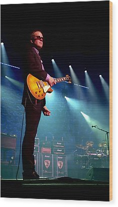 Joe Bonamassa 2 Wood Print by Peter Chilelli