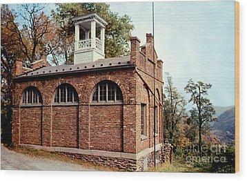 John Browns Fort  Wood Print by Ruth  Housley