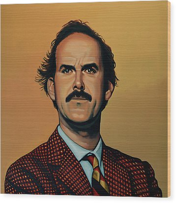 John Cleese Wood Print by Paul Meijering