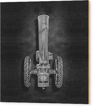 John Deere Top Bw Wood Print by YoPedro