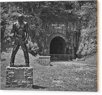 John Henry - Steel Driving Man Wood Print