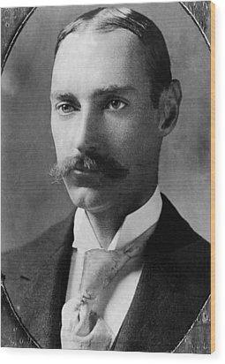 John Jacob Astor Iv 1864-1912 Wood Print by Everett