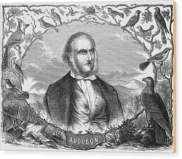 John James Audubon Wood Print by Granger
