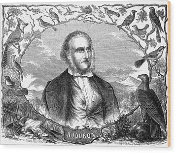 John James Audubon Wood Print by Granger