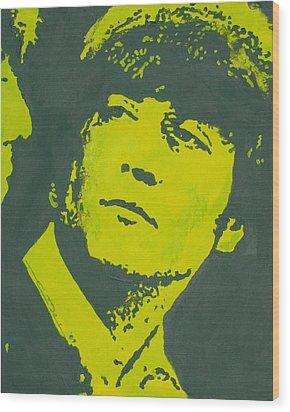 John Lennon Iv Wood Print by Eric Dee