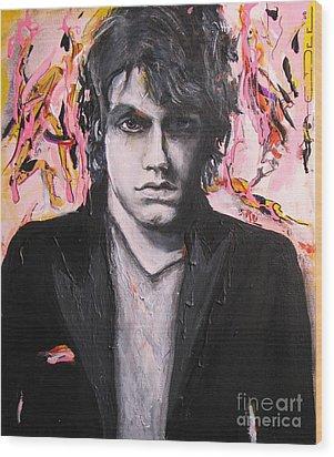 John Mayer Wood Print by Eric Dee