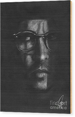 Johnny Depp 2 Wood Print by Rosalinda Markle
