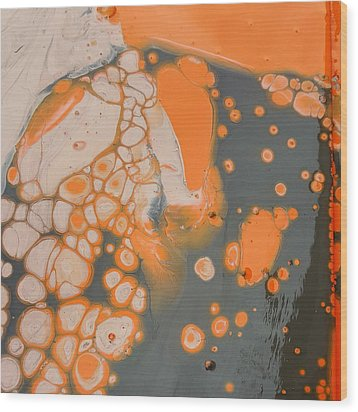 Johnny Pepper Crowding Over Hyppo Wood Print by Gyula Julian Lovas