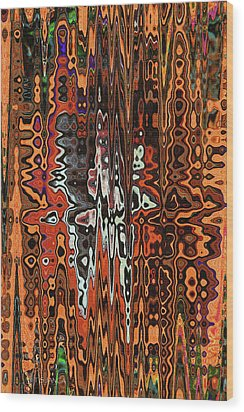 Jojo Abstract Wood Print