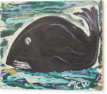 Jonahs Friend Wood Print by Mary Carol Williams