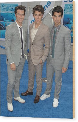 Jonas Brothers, Kevin Jonas, Nick Wood Print by Everett