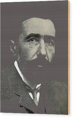 Joseph Conrad George Charles Beresford Photo 1904-2015 Wood Print by David Lee Guss