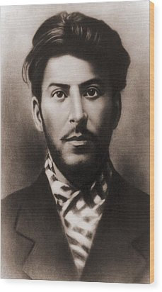Joseph Stalin 1879-1953, In An Early Wood Print by Everett