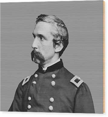 Joshua Lawrence Chamberlain Wood Print by War Is Hell Store
