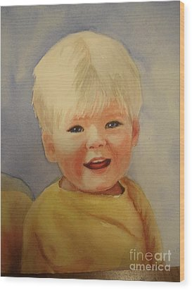 Joshua's Youngest Brother Wood Print by Marilyn Jacobson