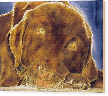 Josie Wood Print by Susan Gauthier