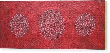 Journey Of Life II Wood Print by Sophia Elise