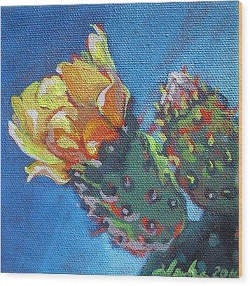 Joy Of Spring  Wood Print by Aleksandra Buha