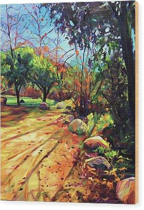 Joyous Light Wood Print