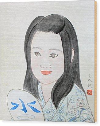 Jozen Mizu No Gotoshi Wood Print