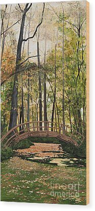 Golden Afternoon Wood Print by Carla Dabney