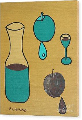 Juice Wood Print by Patrick J Murphy