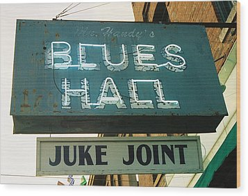 Juke Joint Wood Print by Jame Hayes