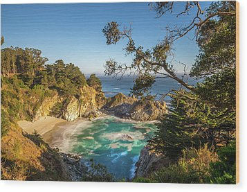 Wood Print featuring the photograph Julia Pfeiffer Burns State Park California by Scott McGuire