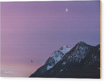 Jumbo Sunrise Wood Print