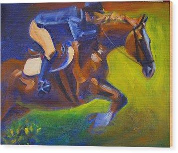 Jumper 2 Wood Print by Kaytee Esser