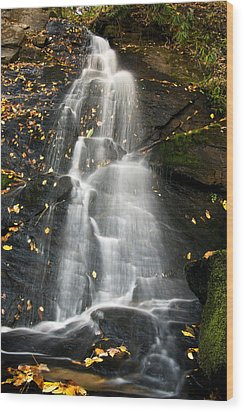 Wood Print featuring the photograph Juney Whank Falls by Bob Decker