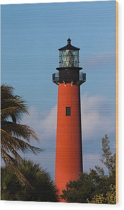 Jupiter Inlet Lighthouse Wood Print