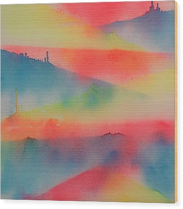 Jupiter's Window Wood Print