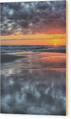 Wood Print featuring the photograph Just Another South Baldwin Sunset by JC Findley