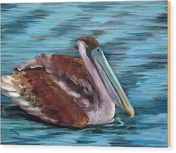 Just Cruisin Wood Print by Suzanne McKee